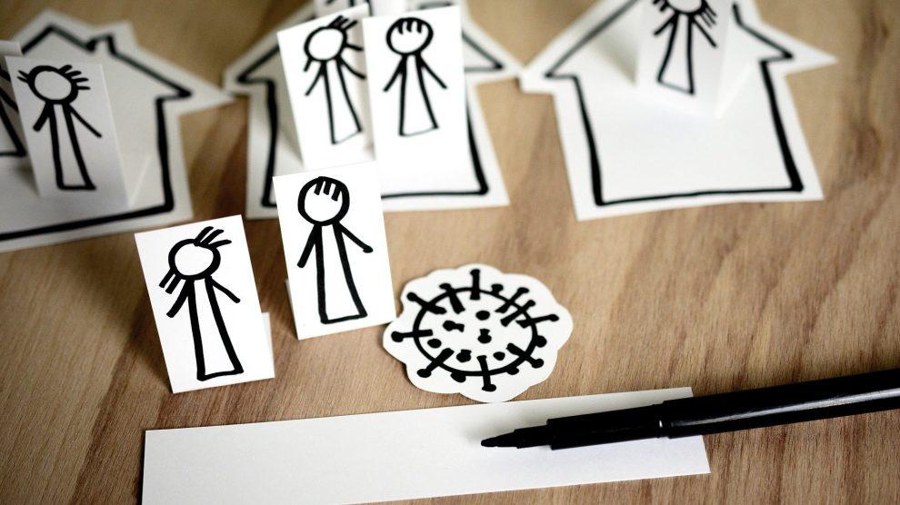 Kebschull und Griesert warnen vor zweiter Welle und bitten um Verzicht auf alle unnötigen Treffen und Kontakte. Symbolfoto: congerdesign / Pixabay