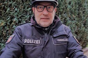 Thomas Termöllen ist seit Anfang Oktober als Kontaktbeamter (KOB) im Einsatz. Foto: Polizei Bramsche