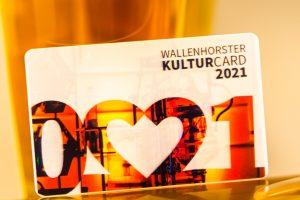 Das perfekte Geschenk – für andere oder für sich selbst: die Wallenhorster Kulturcard. Foto: André Thöle / Gemeinde Wallenhorst