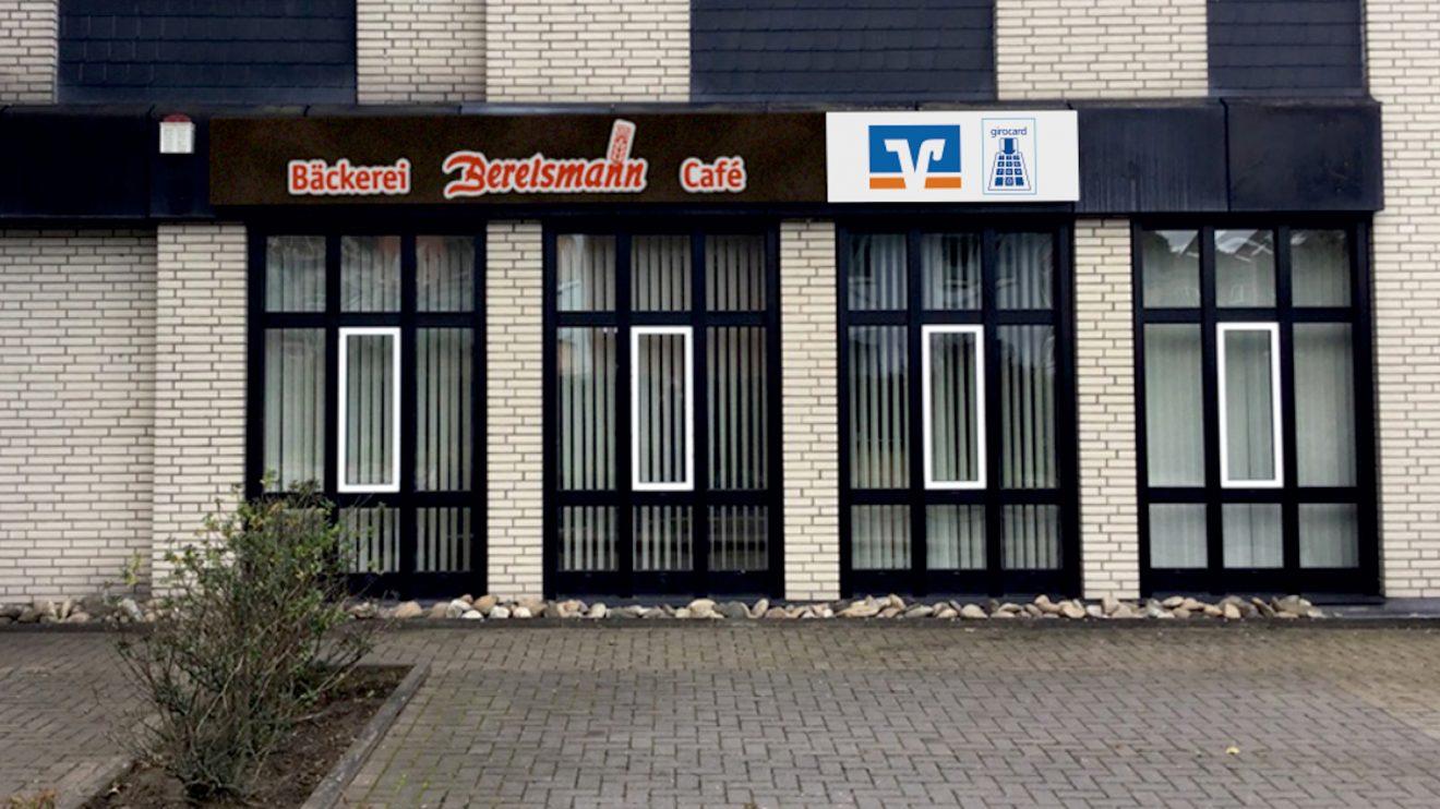 Noch Baustelle, ab dem 3. Februar Bäckerei mit kleinem Café. An Fürstenauer Weg eröffnen die Bäckerei Berelsmann ihre erste Filiale in Pye. Foto: Berelsmann