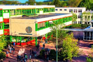 Die Thomas-Morus-Schule in Osnabrück-Haste. Foto: Thomas-Morus-Schule