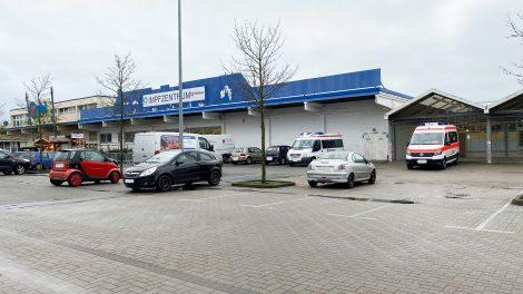 Das Impfzentrum in Wallenhorst. Foto: Felix Rothermundt / Wallenhorster.de