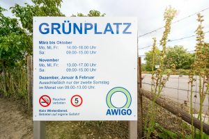 Ab März sind die rund 30 Grünplätze der AWIGO wieder 18 Stunden die Woche geöffnet. Foto:A.W. Sobott