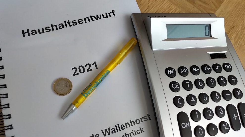 Gesunde Finanzen. Foto: FDP Wallenhorst