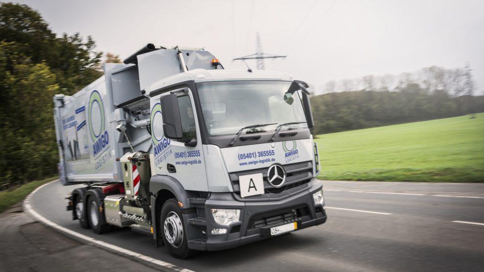 Wie geht es mit der Müllabfuhr im Landkreis Osnabrück nach dem Extremwetter weiter? Foto: AWIGO