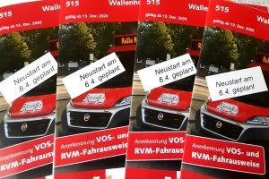 Nach der Corona-Zwangspause ist ein Neustart für den Bürgerbus Wallenhorst-Wersen ab dem 6. April 2021 geplant. Foto: BürgerBus Wallenhorst-Wersen e.V.