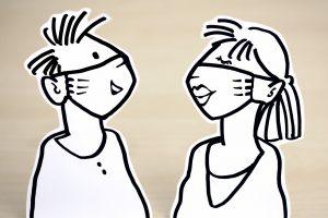 Maskenpflicht und Hygienekonzepte: Der Landkreis Osnabrück kontrolliert die Einhaltung von Corona-Schutzvorkehrungen. Symbolfoto:congerdesign / Pixabay