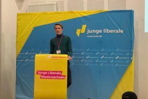 Moritz Halbach. Foto: Junge Liberale Niedersachsen