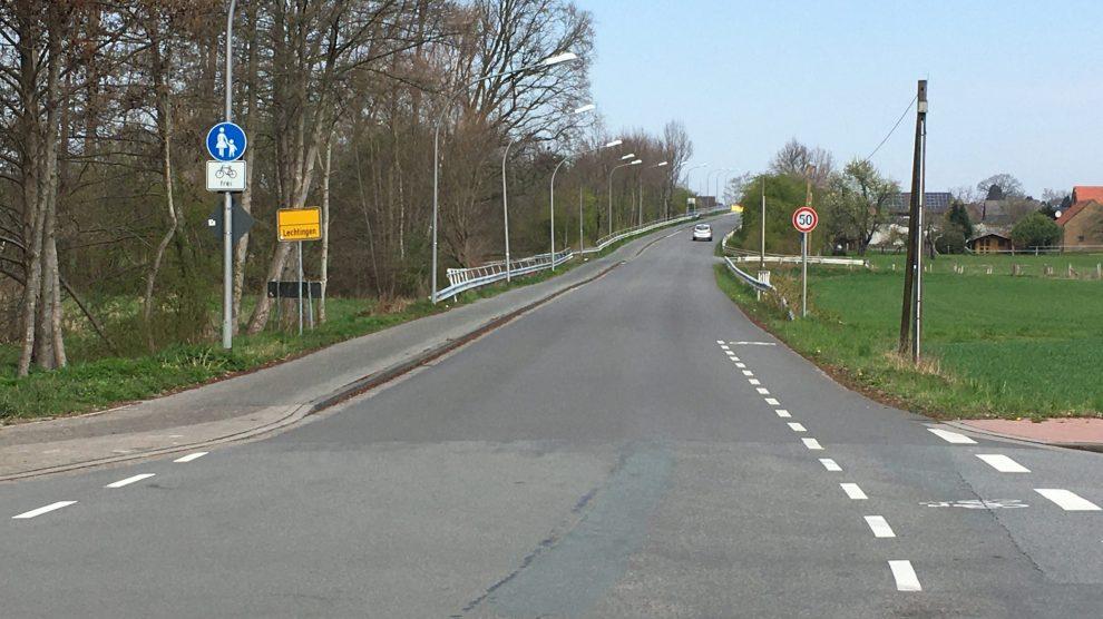 Der Boerskamp aktuell in Lechtingen Richtung Wallenhorst. Foto: CDU Lechtingen