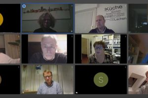 """""""Offenen Online-Fraktionssitzung"""" über Zoom. Screenshot: CDW Wallenhorst"""