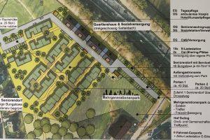 """Projektskizze """"Seniorendorf Wallenhorst & Quartiershaus"""""""