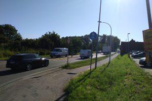 Der tägliche Verkehr auf der L 109. Foto: FDP Wallenhorst