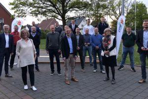 Die Kandidatinnen und Kandidaten für die Kommunalwahlliste der CDW. Foto: CDW Wallenhorst