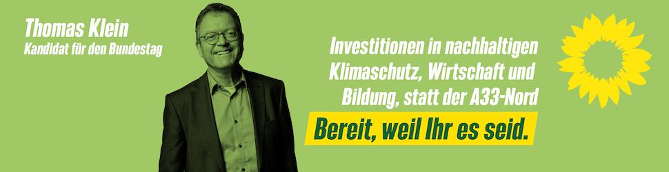 Thomas Klein - Kandidat für den Bundestag