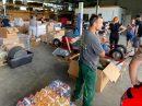 Eindrücke von der Hilfsaktion aus Wallenhorst für die betroffenen Hochwassergebiete. Fotos: DRK Wallenhorst