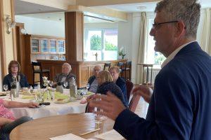 Zu Beginn des Bundestagswahlkampfes konnte die Wallenhorster CDU Christian Haase, den kommunalpolitischen Sprecher der CDU/CSU Bundestagsfraktion in Wallenhorst begrüßen. Foto: CDU-Gemeindeverband