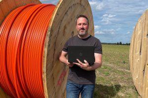 SPD-Ratskandidatin Hendrik Remme macht sich für schnelles Internet auch in den Außenbereichen stark. Foto: SPD Wallenhorst