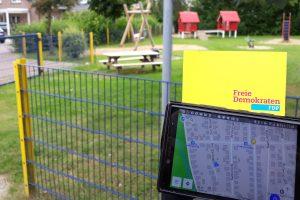 Spielplätze aktuell online finden. Foto: FDP Wallenhorst