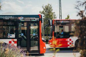 Am 2. September findet der Fahrplanwechsel bei der VOS statt (Foto: VOS / Tobias Schwertmann)