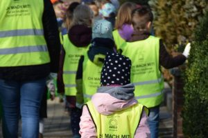 Parallel zum World Cleanup Day 2021 soll landkreisweit ebenfalls wieder Abfall gesammelt werden. Foto: Kindergarten Venne