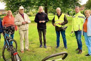Die CDU Wallenhorst auf Radtour durch alle Ortsteile. Foto: Maria Bertke