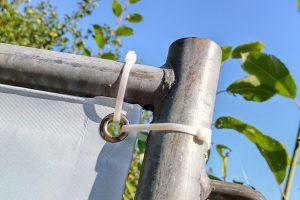 Nutzung der Werkstoffe aus Kabelbindern. Foto: FDP Wallenhorst