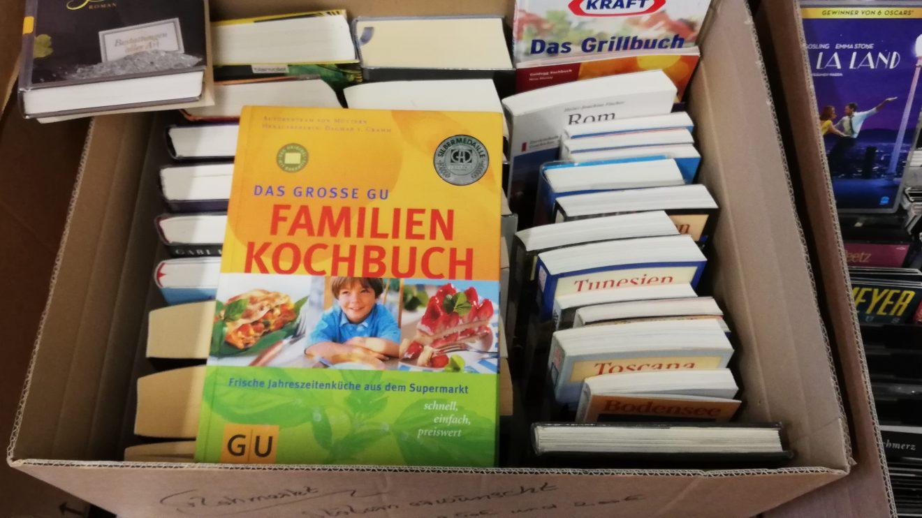 Aus dem aktuellen Flohmarktangebot der Ruller Bücherei. Foto: Bücherei St. Johannes Rulle