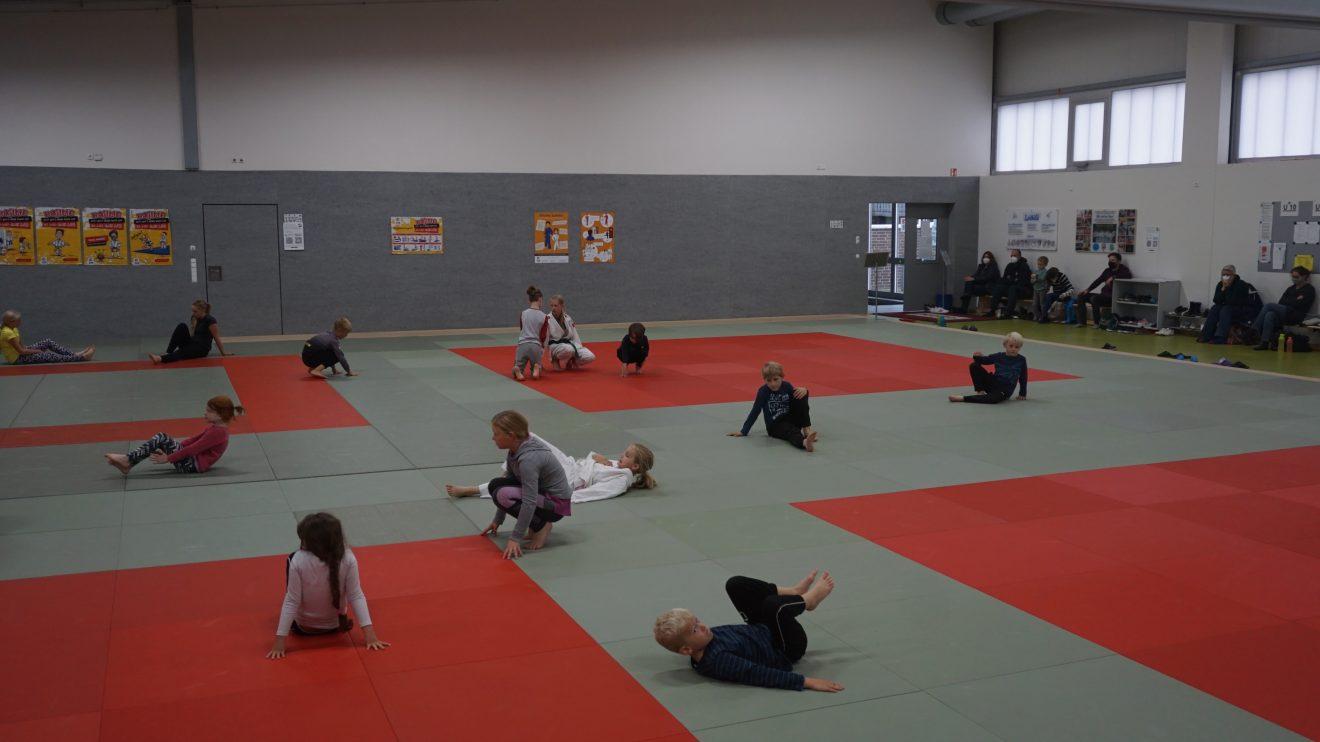 Eindrücke von den ersten Trainings der Anfängerkurse. Foto: Blau Weiss Hollage