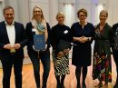 Der Landtagsabgeordnete Guido Pott, Bärbel Börger, Almut Schepers, Sozialministerin Daniela Behrens, Maike Sieverding und Annette Temmeyer (v.l.n.r.). Foto: Büro Guido Pott